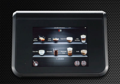 la cimbali s30 touchscreen innovative interaction with the machine