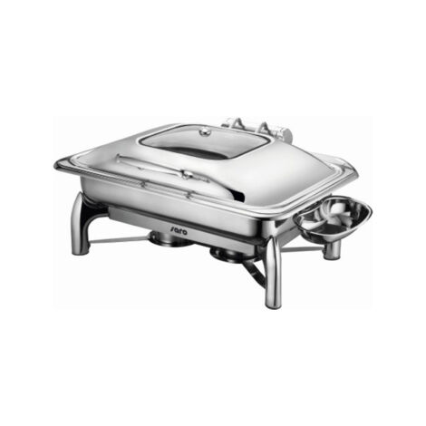 Chafing dish cu inductie si capac automat