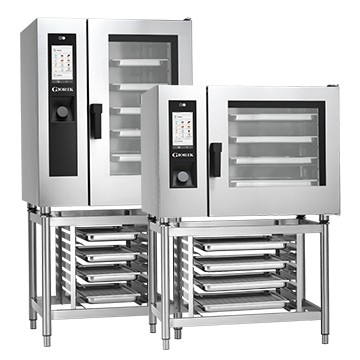 Cuptor gastronomic electric convecție Giorik Steambox Touchscreen